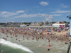 Old Orchard Beach July 24, 2013