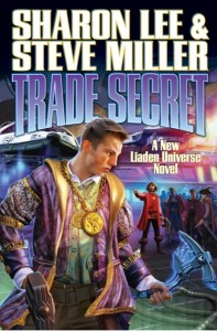 Trade Secret cover.  Art by Sam Kennedy
